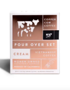 Copper Cow - Cream & Black - Coffee