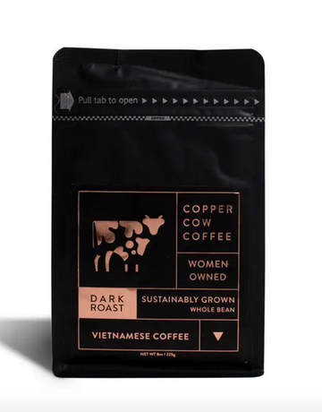 Copper Cow - Vietnamese Whole Bean Dark Roast