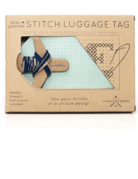 Class:  January 26th - Embroidery 101 (Leather Luggage Tag)