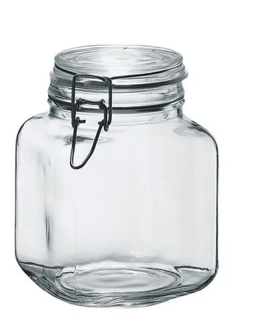 Borgonovo Hermetic Jar - 58oz