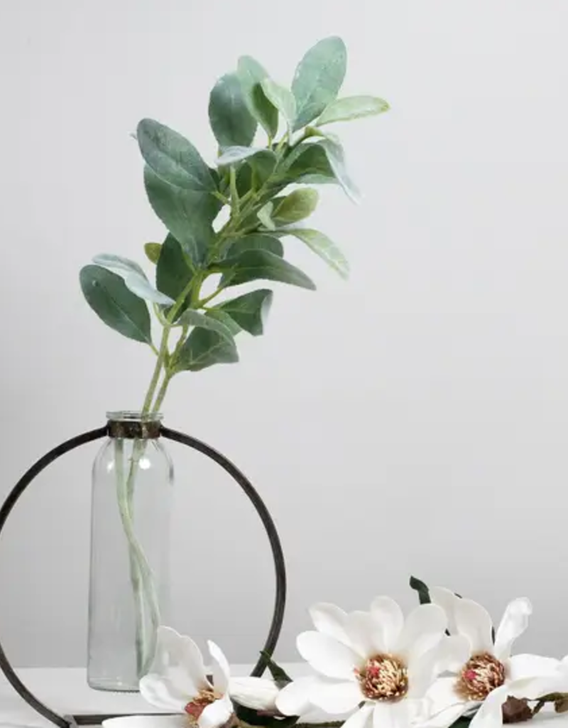 Keystone Vase with Two Spiral Lucky Bamboo