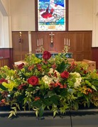 Celebration of Life - Plantinum Casket Spray