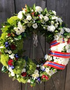 """Celebration of Life - Wreath - 22"""""""