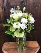 Platinum Bouquet in Vase