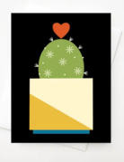 Amber Leaders Designs - Hearty Cactus Card