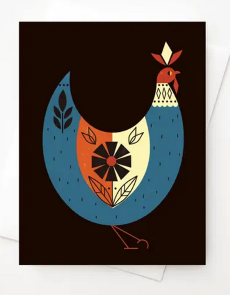 Amber Leaders Designs - Chicken Card