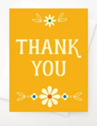 Amber Leaders Designs - Thank you Card