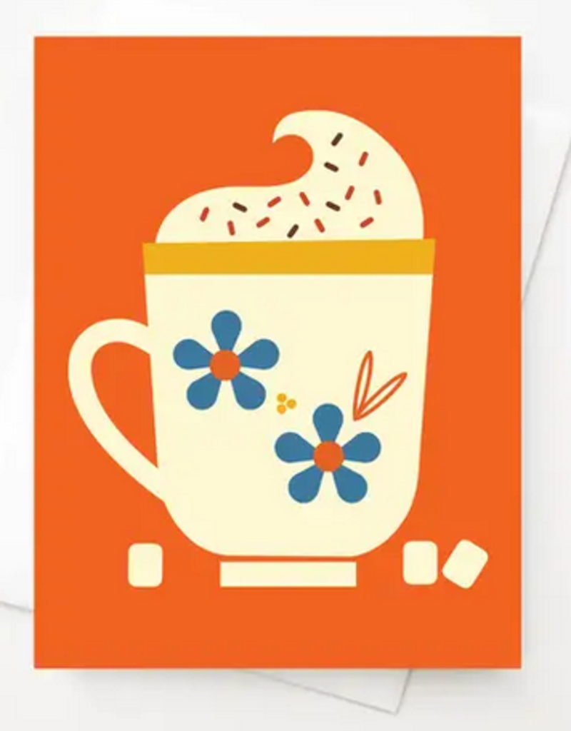Amber Leaders Designs - Hot Cocoa Card