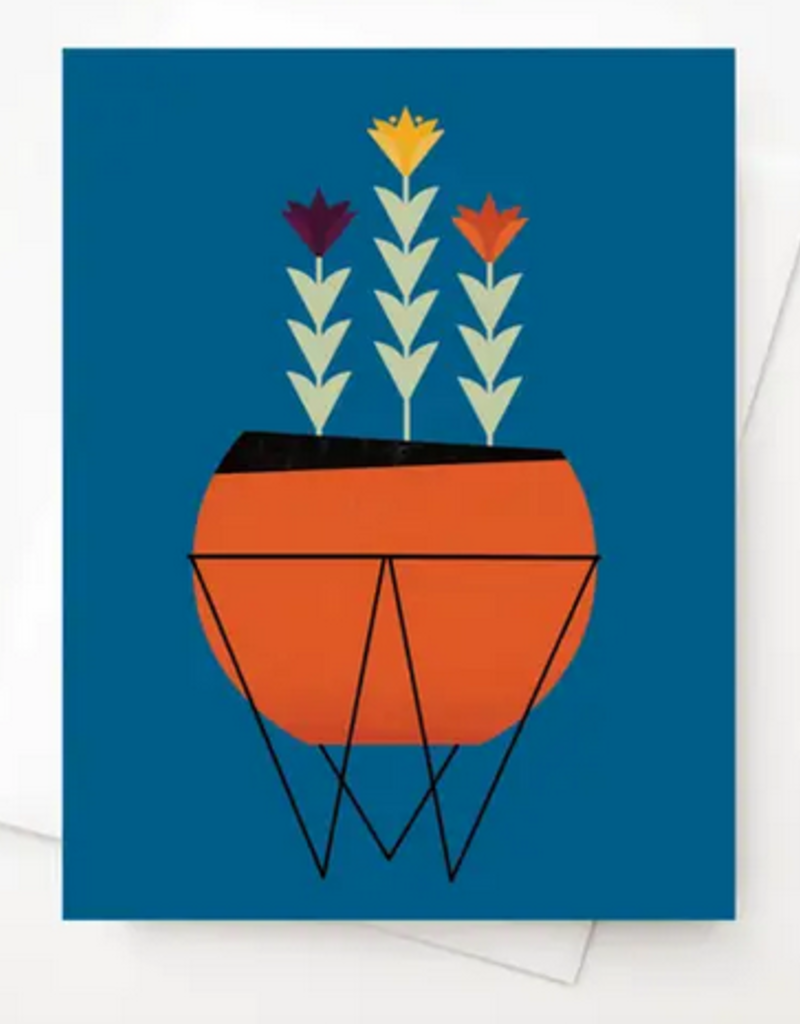 Amber Leaders Designs - Modern Planter Card