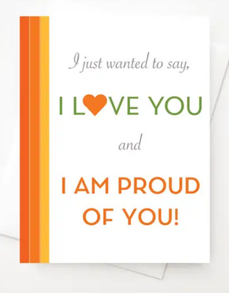 Amber Leaders Designs - Proud of You Card