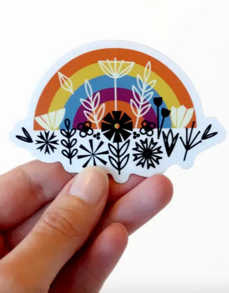 Amber Leaders Designs -  Rainbow Sticker