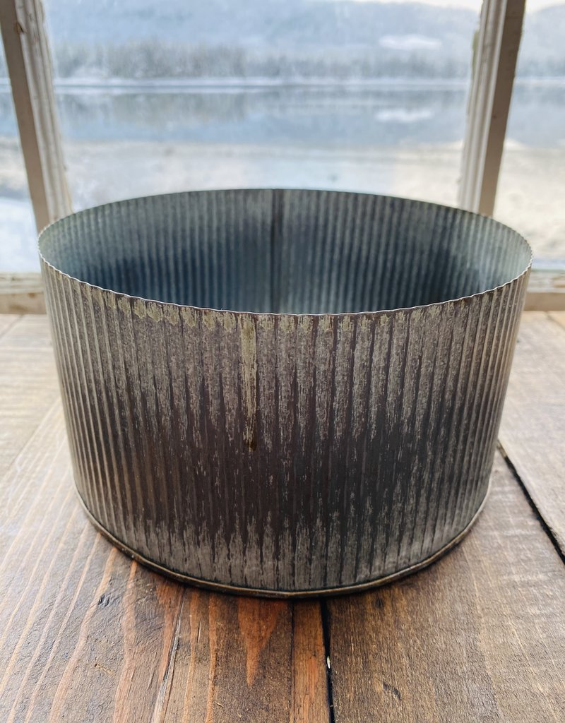 "Planter - 6.75"" Norah Pot - Zinc"