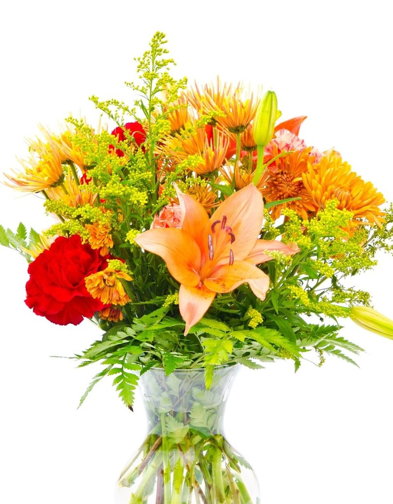 Traditional Design in Vase