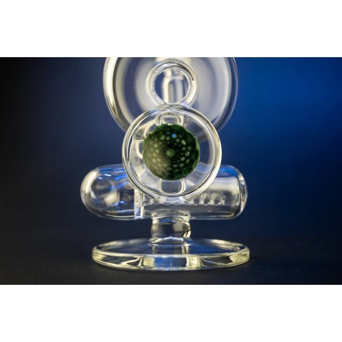 DC Inline Worked Green Honeycomb