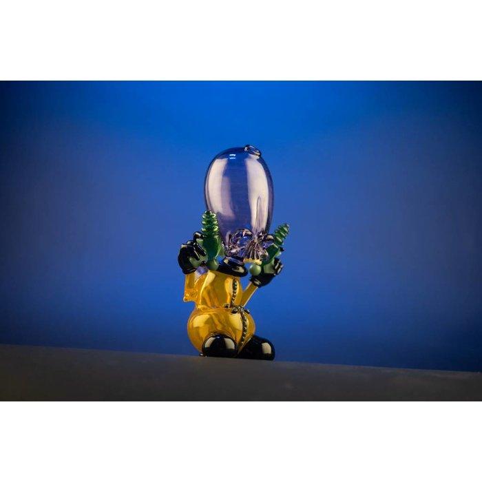 "Hendy Glass ""Invader"" #21 Night Shades & Solaria"
