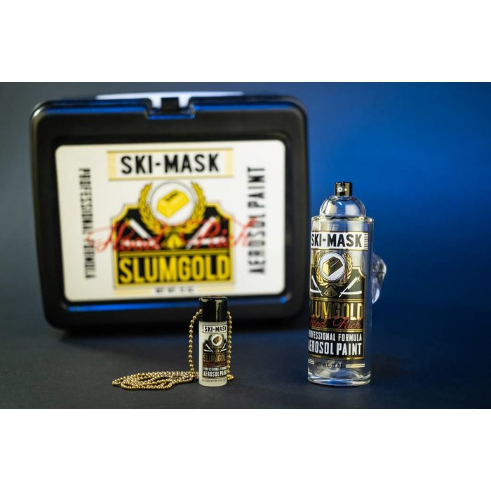 Slum Gold x Ski Mask Spray Can w/ Pendant