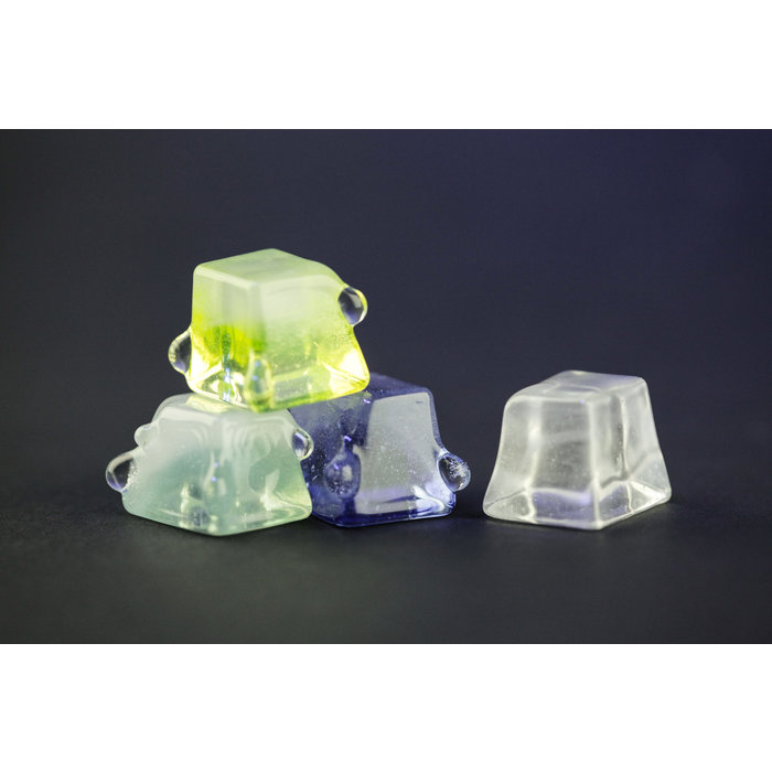 Chaka Glass Ice Cube Blue