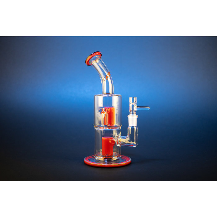 Toro Glass Double Micro Froth/Froth Two color