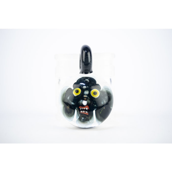 DWRECK Face Implosion Yellow Eyes Pendant