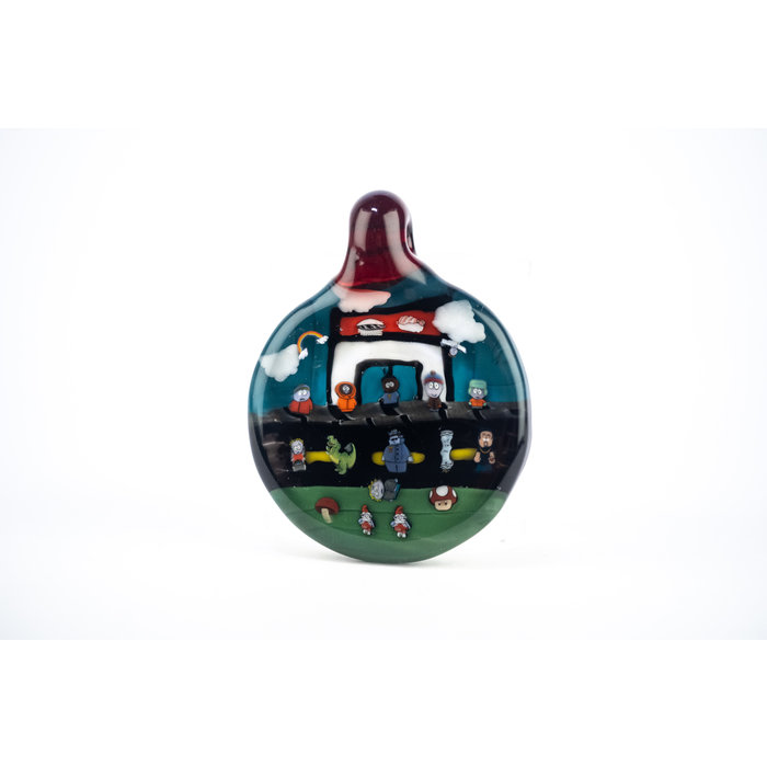 Keys Glass South Park Pendant