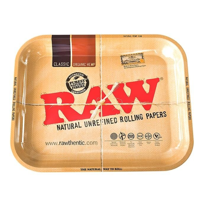 Raw Large Rolling Tray 11x14 inch