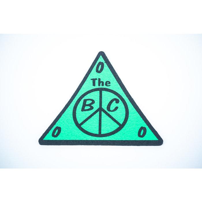 "BC Moodmat 10"" Triangle Green"