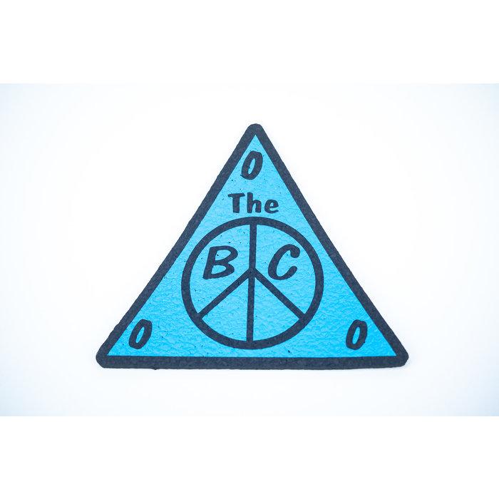 "BC Moodmat 10"" Triangle Blue"