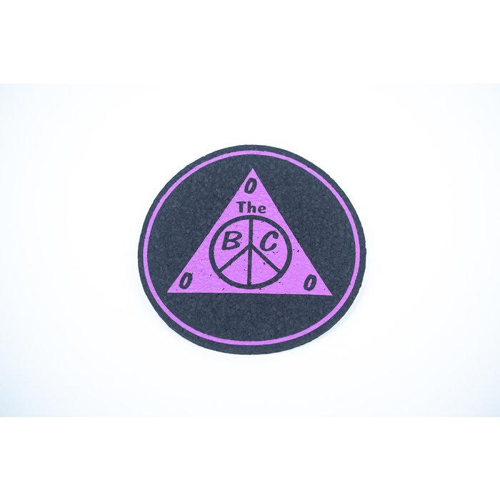 "BC Moodmat 8"" Circle Purple"