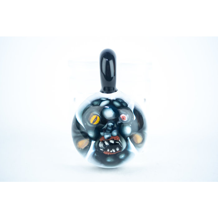 DWRECK Face Implosion Mixed Eyes Pendant