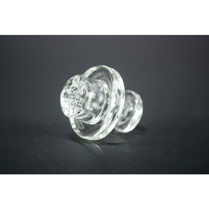 Zombie Hand Studios 25mm Clear Spinner Flat Cap