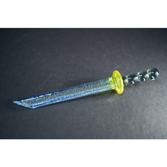 Know Ego Glass Chokuto Blade Tool Dichro #1