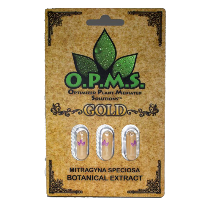 Gold Kratom Extract 3ct