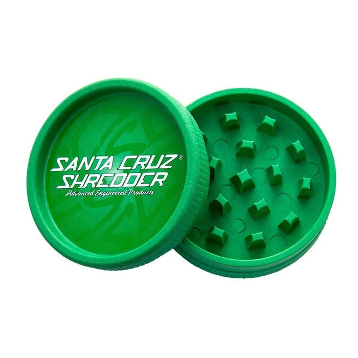 Santa Cruz Shredder 2-Piece Hemp Grinder
