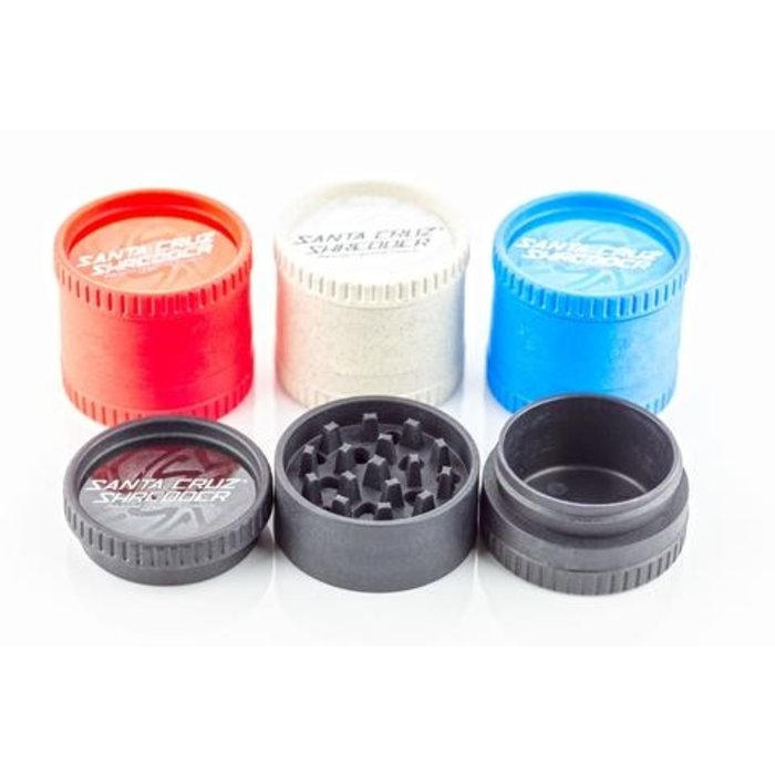 Santa Cruz Shredder 3-Piece Hemp Grinder