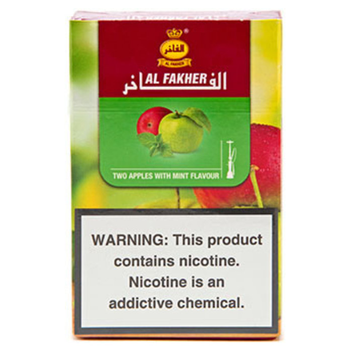 Al Fakher Two Apple Mint 50g