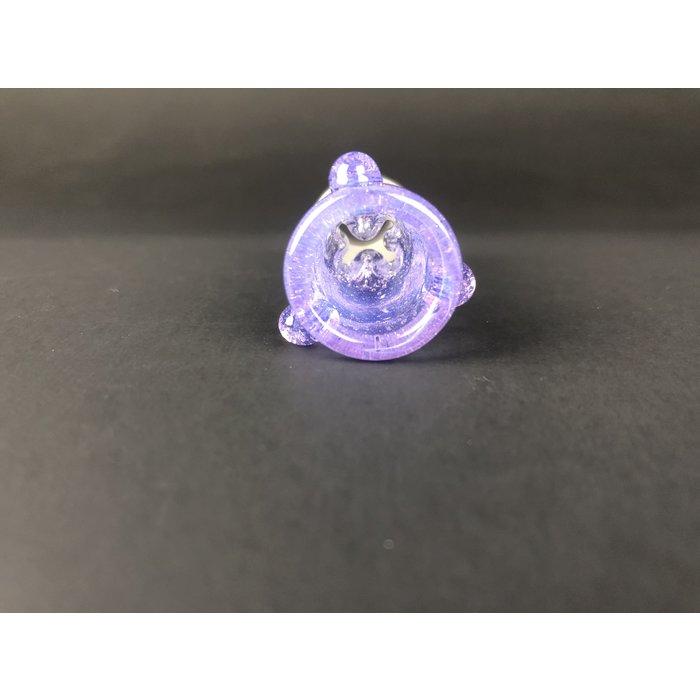 Ice Pinch Slide 18mm Purple Lollipop