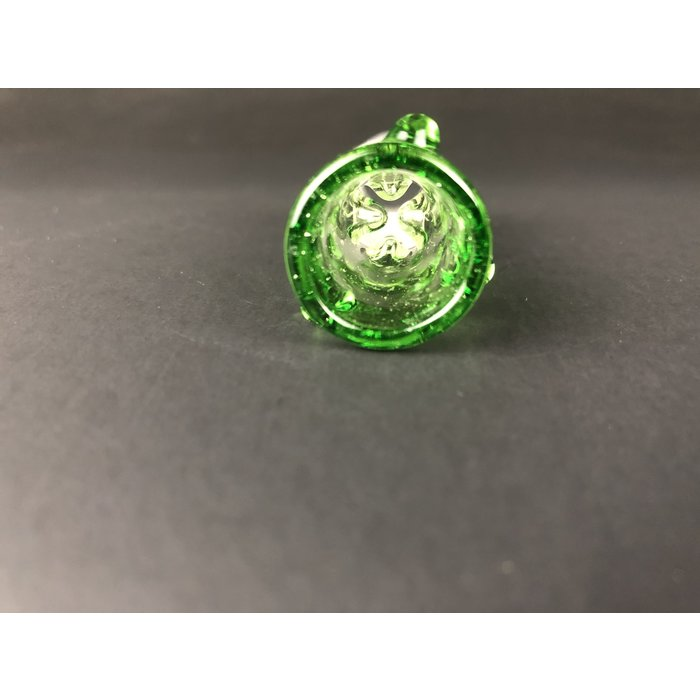 Ice Pinch Slide 18mm Transparent Green