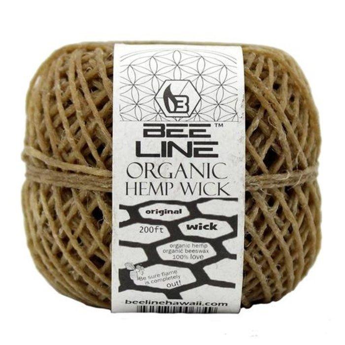 Bee Line Organic THIN Hemp Wick Ball 200 Ft