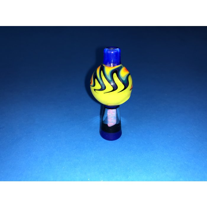 Jeremy 25mm Bubble Cap w/ Opal #461