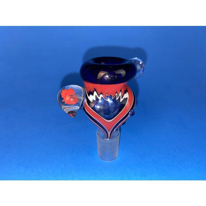 Frito Glass 18mm Push Bowl Reversal Slide #1