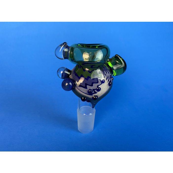 Frito Glass 18mm Push Bowl Reversal Slide #2