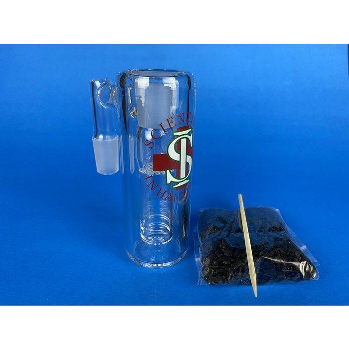 Scientific Inhalations 18/90 Male Carbon Ashcatcher