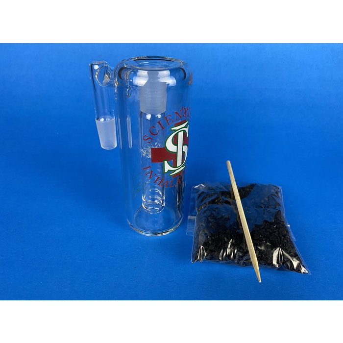 Scientific Inhalations 14/90 Male Carbon Ashcatcher