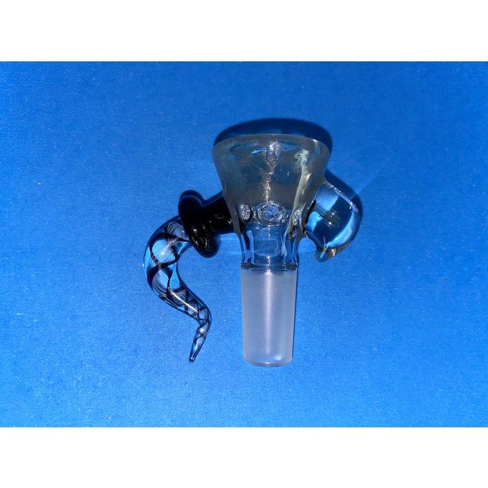 Frito Glass 14mm Honeycomb 6 Hole Slide #3 CFL