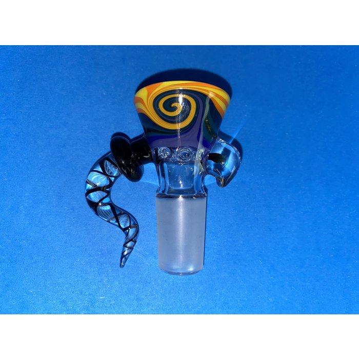 Frito Glass 18mm WigWag 6 Hole Slide #3