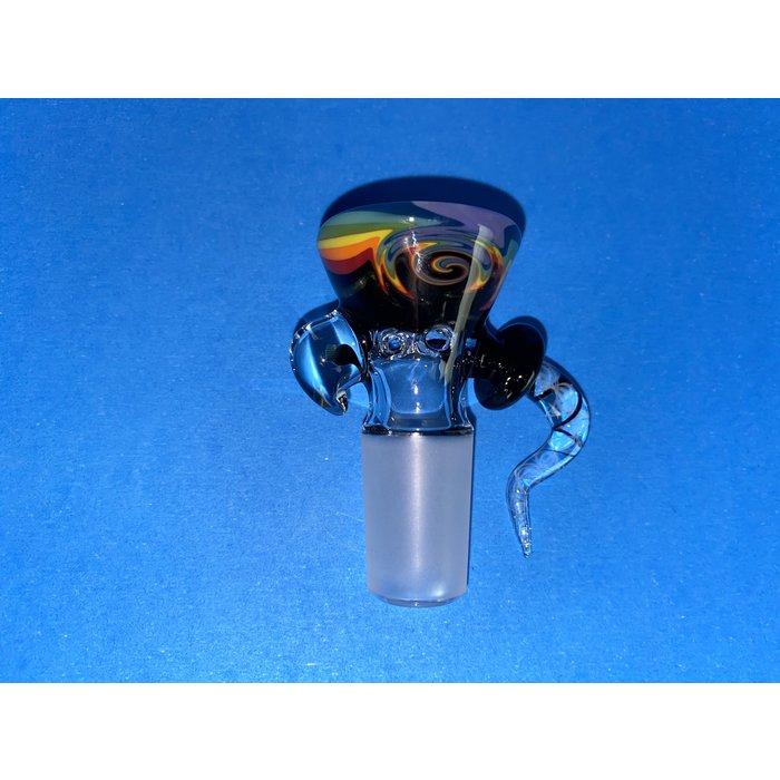 Frito Glass 18mm WigWag 6 Hole Slide #5