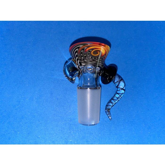 Frito Glass 18mm WigWag 6 Hole Slide #6