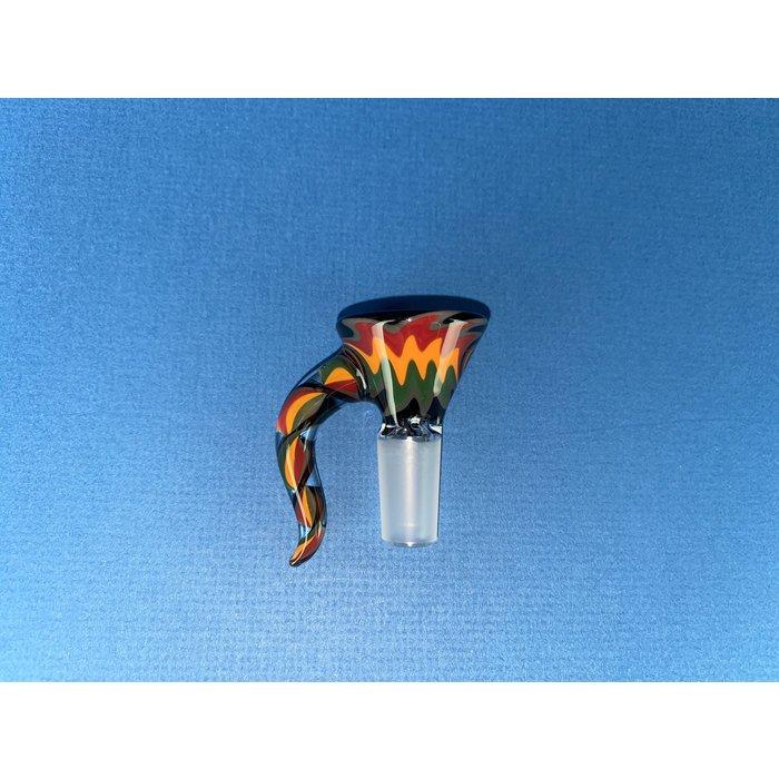 Koji Glass 14mm Horned Ice Pinch Martini Slides #4