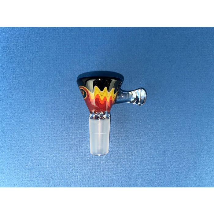 Koji Glass 14mm Ice Pinch Martini Slide #7