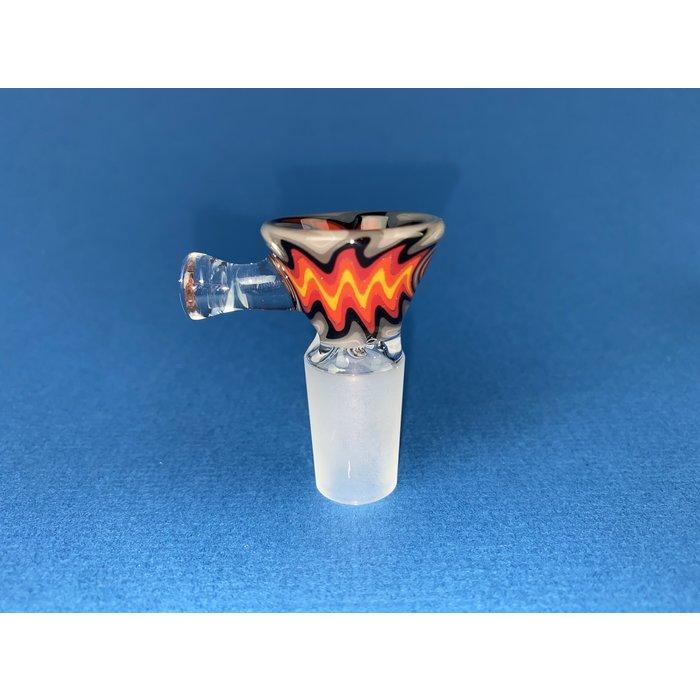 Koji Glass 18mm Ice Pinch Martini Slide #25
